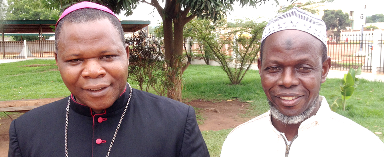Muslim and Christian leaders are working together for peace in the Central African Republic.