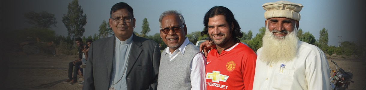 Football is helping promote interfaith harmony in Pakistan.