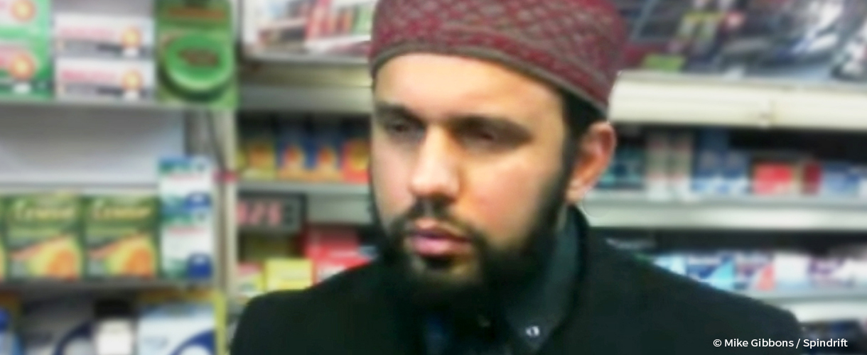 This Amadiyya Muslim shopkeeper was slain in Glasgow.